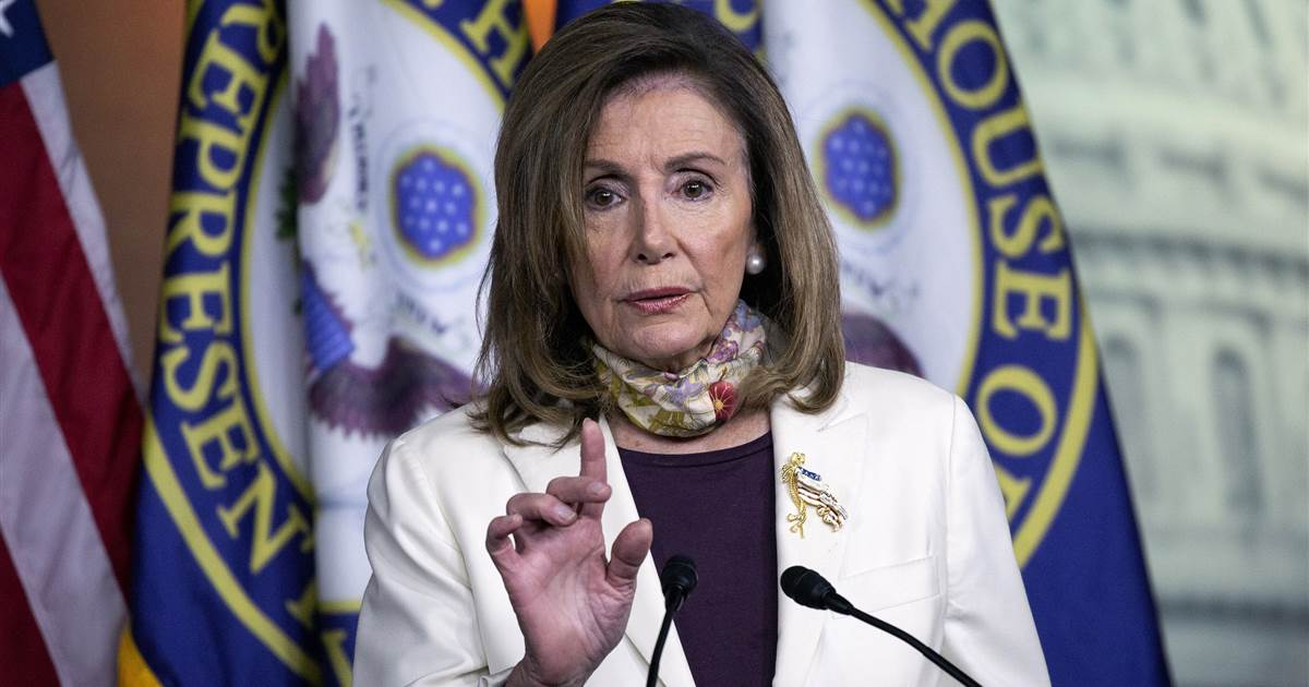 Pelosi calls Trump's opposition to mail-in voting a 'contradiction'